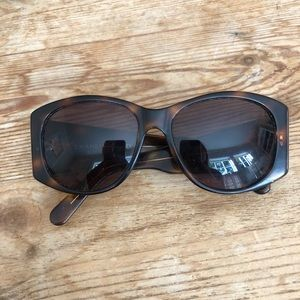 Tortoise Chanel Women's Sunglasses